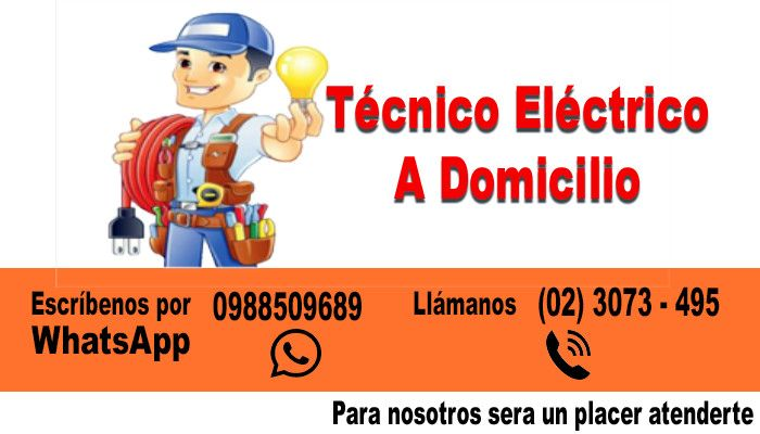 Electricista a domicilio Quito