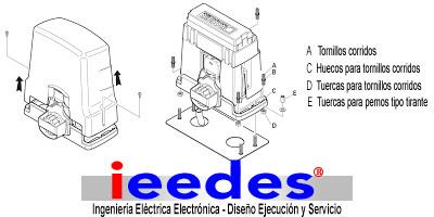 Como instalar un motor eléctrico para portón corredizo